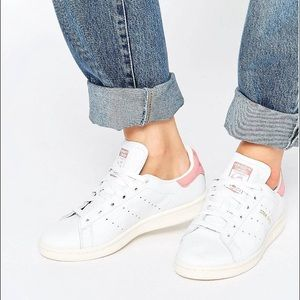 adidas superstar light pink suede