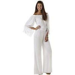 Elan Dresses & Skirts - ELAN Off-The-Shoulders Jumpsuit Cover-up NWT M