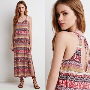 FOREVER 21 Paisley Maxi Dress
