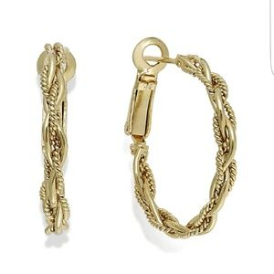 Giani Bernini Gold Hoop Earrings