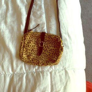 Clare Vivier Handbags - Clare vivier leopard cross body!
