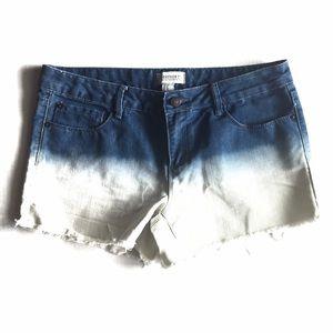 Forever 21 Pants - Ombre Denim Shorts