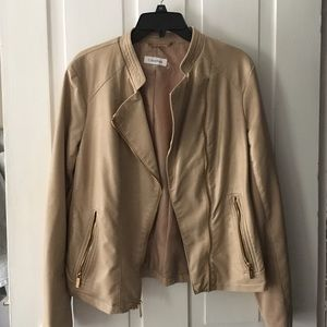 Calvin Klein Jackets & Blazers - Calvin Klein faux leather jacket