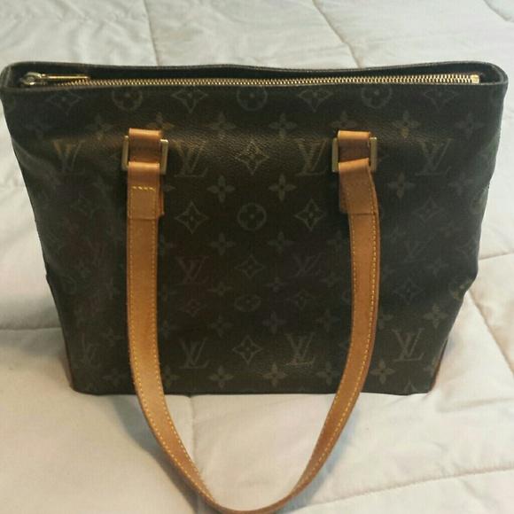 cc28ca80e476 Louis Vuitton Handbags - Louis Vuitton Cabas Mezzo Piano Tote-Authentic
