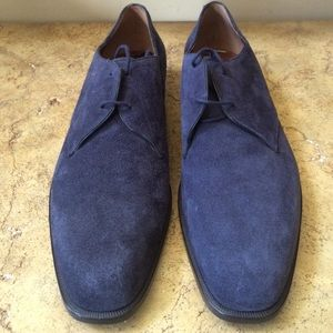 Fratelli Rossetti Other - Fratelli Rossetti Navy Suede Men's Shoes