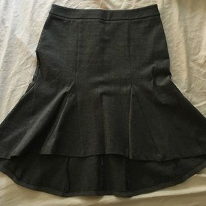 Patrizia Luca Dresses & Skirts - Patrizia Luca gray stretch kick skirt. Fun!