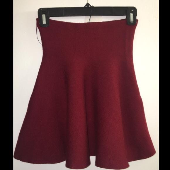 94801e96b Zara Skirts | New Knit Collection Skirt | Poshmark