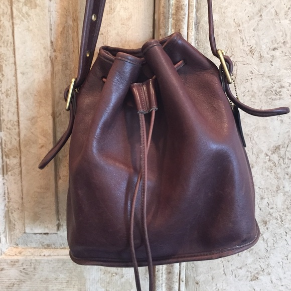 ac31a4201cebd Coach Handbags - Coach drawstring bucket bag