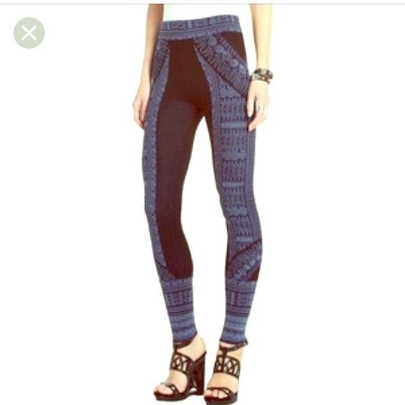 c7538d4e599b5a BCBGMaxAzria Pants   Bcbg Sweater Legging   Poshmark