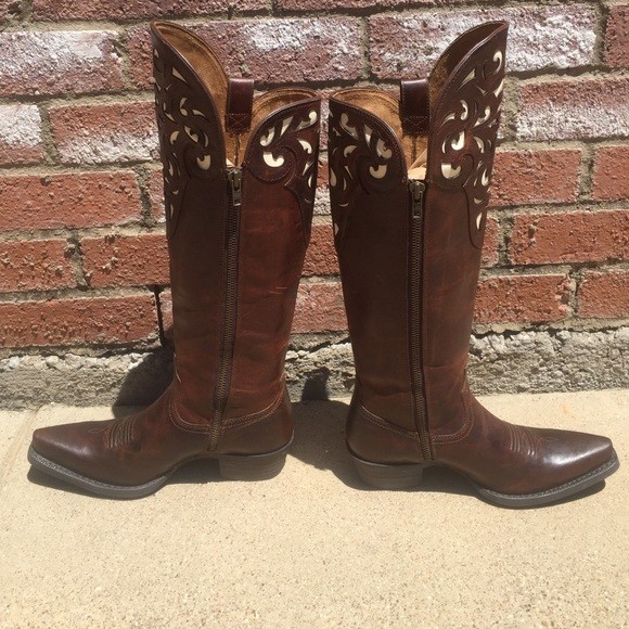 Ariat - SOLD! Ariat Hacienda Boots - Custom Tall Boots from ...