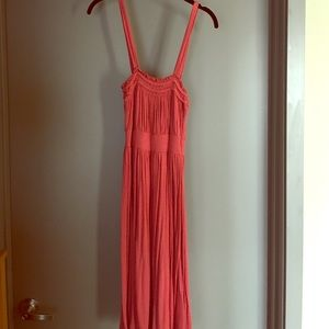 XS pink Halogen rayon blend dress