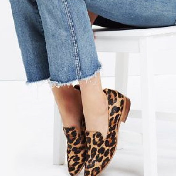 Madewell Leopard Print Loafers