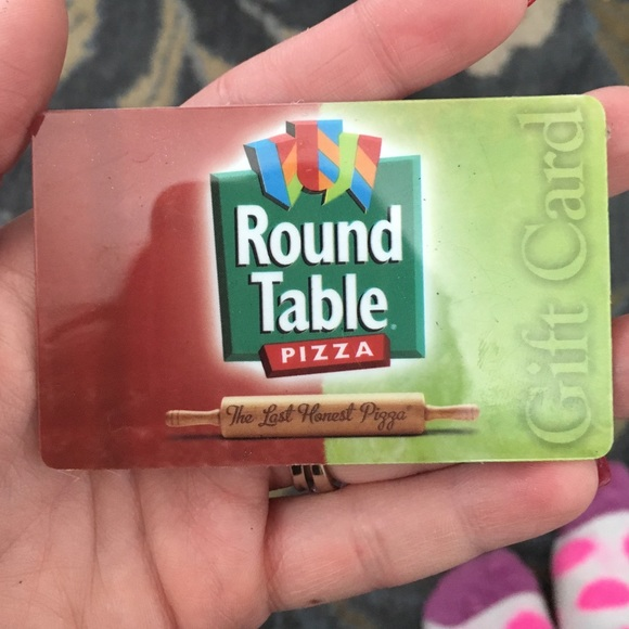 other round table pizza gift card poshmark rh poshmark com round table gift certificates