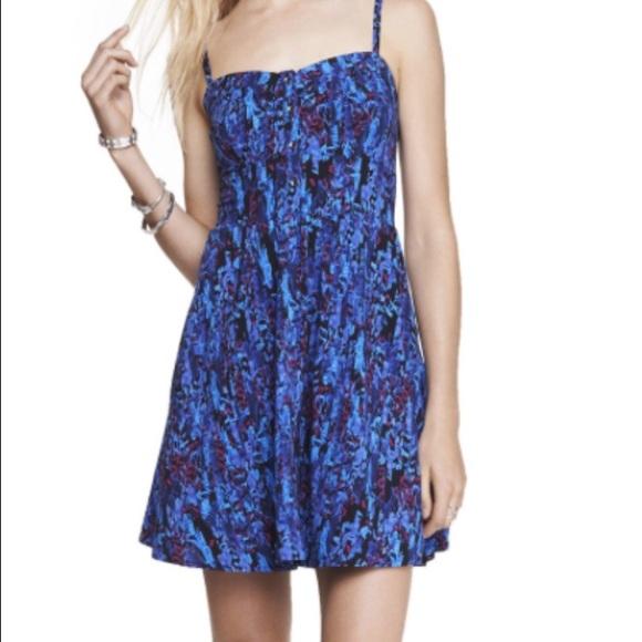7354a55f73d Express Dresses   Skirts - Express floral print Cami sundress