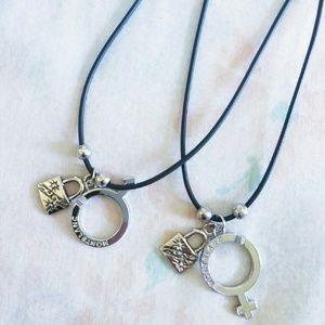 Montblanc Accessories - couple necklaces