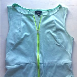 Mossimo Supply Co Dresses & Skirts - Mint dress with zipper in the front