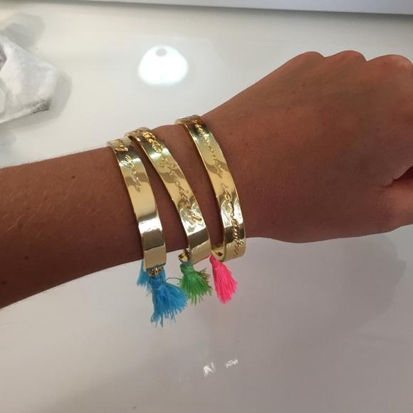 Lilly Pulitzer Jewelry - Lilly Pulitzer bracelet set