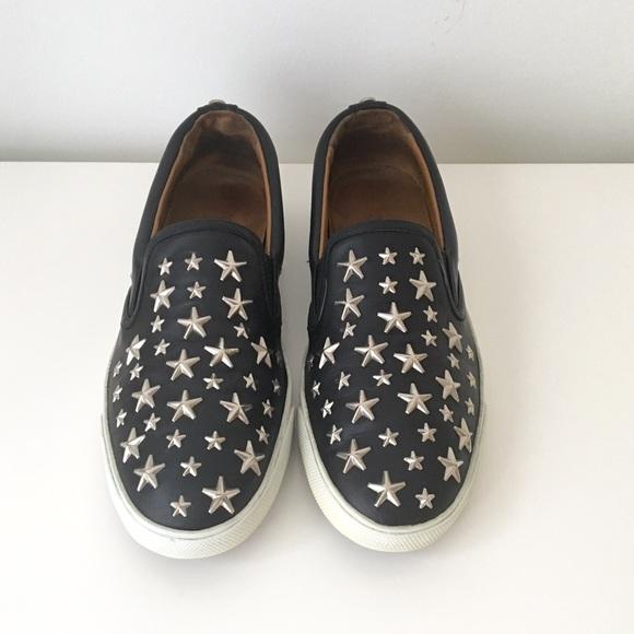 9bbf78e36f38 Jimmy Choo Shoes - Jimmy Choo Star Studded Slip ons