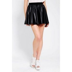 Urban Outfitters Dresses & Skirts - Silence + Noise vegan leather skirt