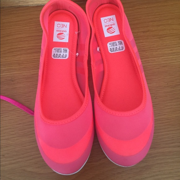 super specials authorized site arriving adidas NEO Women's Sunlina W Slip-On Ballet Flat NWT
