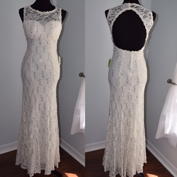 296c01d099335 WINDSOR Dresses | Final Price Formal Prom Gown With Sequins | Poshmark