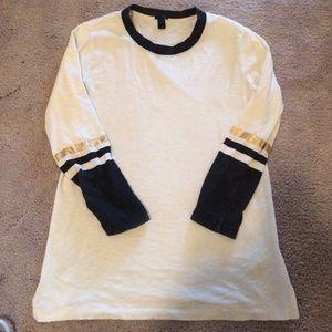 J.Crew cotton shirt - size XS. 3/4 sleeve