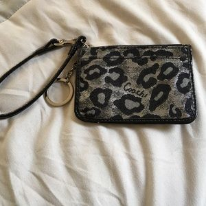 Coach Accessories - Brand New w/ out tag coach wallet - leopard