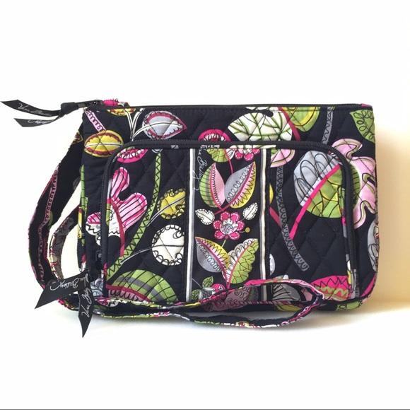 Vera Bradley® Little Hipster Crossbody-Moon Blooms.  M 579e5bf46d64bcb5ee093b91 c7f00de5c6b3a