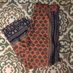 Pants - Patterned pants