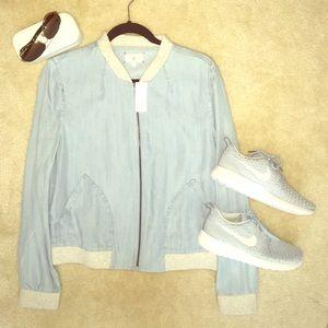 Lou & Grey Jackets & Blazers - Lou & Grey Bomber (lightweight)