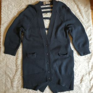 Yoon Sweaters - Yoon Open Back Cardigan