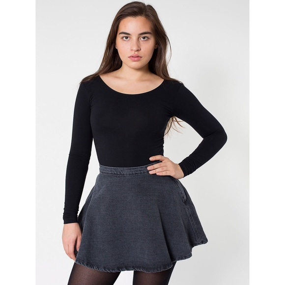 50% off American Apparel Dresses & Skirts - American Apparel Gray ...