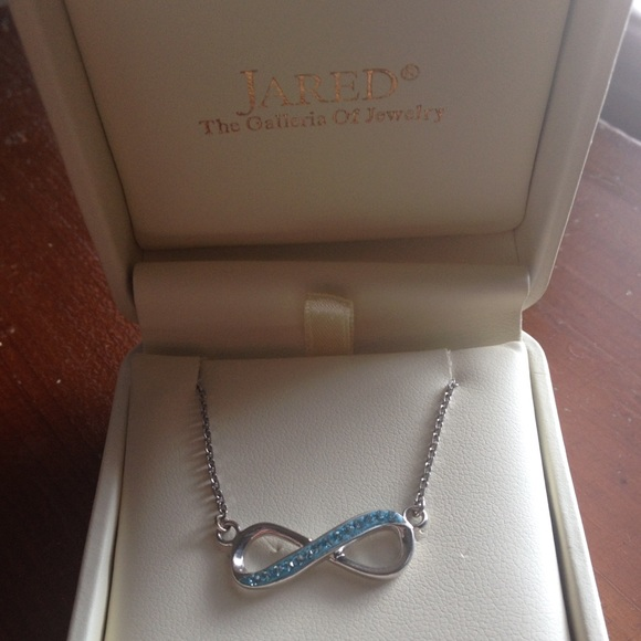 Jared Jewelry Unc Infinity Necklace Sterling Silver From Poshmark