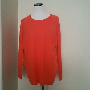 NWT Halogen Crewneck Cashmere Sweater size L