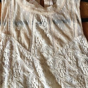 Free People Dresses - Free People lace tunic/dress