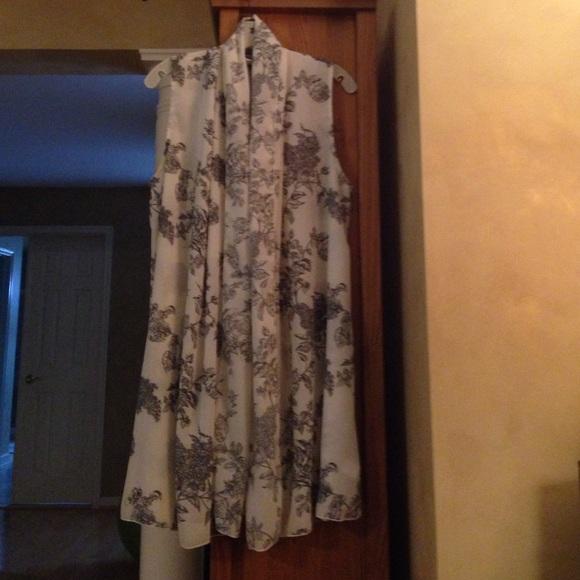 67% off Susan Graver Jackets & Blazers - Sheer sleeveless cardigan ...