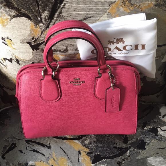 Coach Bags Sale Nwt Mini Nolita Satchel In Pink Color Poshmark
