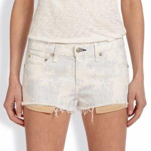 Rag & Bone floral shorts