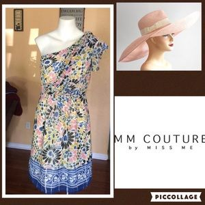 MM Couture Dresses & Skirts - Sale until 12Mm couture one shoulder dress size m