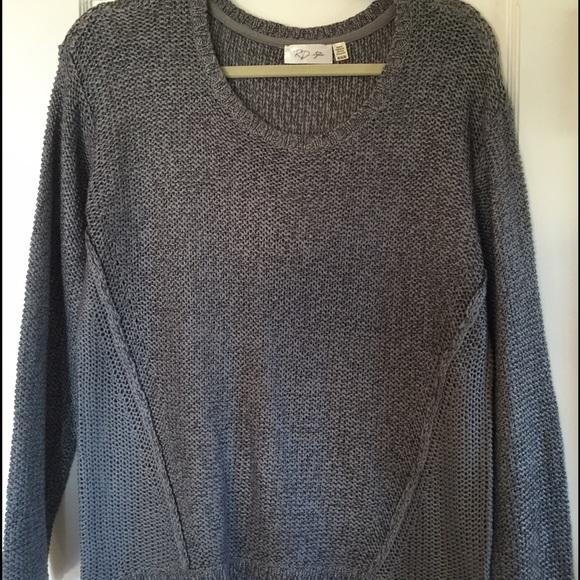 71498e843499 Stitch Fix RD style gray twisted seam sweater. M 579e771056b2d65fe5010202