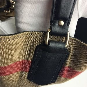 Burberry Bags - Burberry Medium Susanna Mega Check Bucket Bag 5594a2dd47568