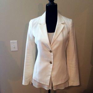 Gap Jackets & Blazers - EUC Gap White Blazer