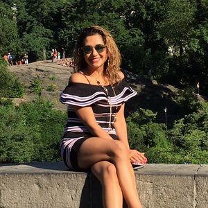 MSGM Dresses & Skirts - Beautiful stripped MSGM dress. Italian. Size M