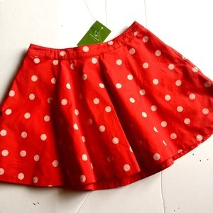 Kate Spade Circle Polka Dot Skirt