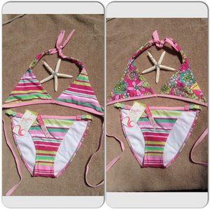 2Chillies Other - Reversible Top Bikini Set