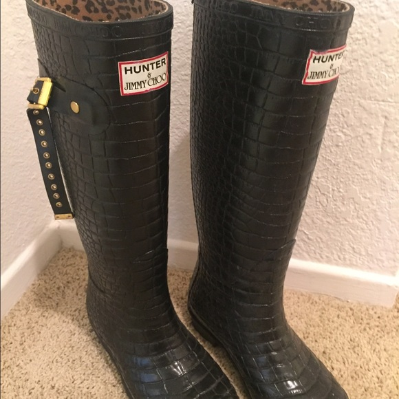 b0dca836850 Hunter Shoes - Jimmy Choo X Hunter Rain Boots