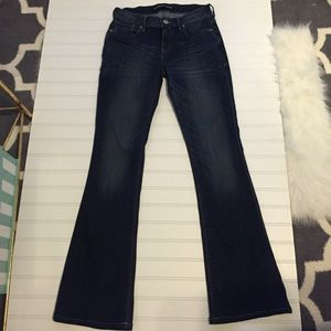 Express Denim - Slim flare mid rise jeans *like new*