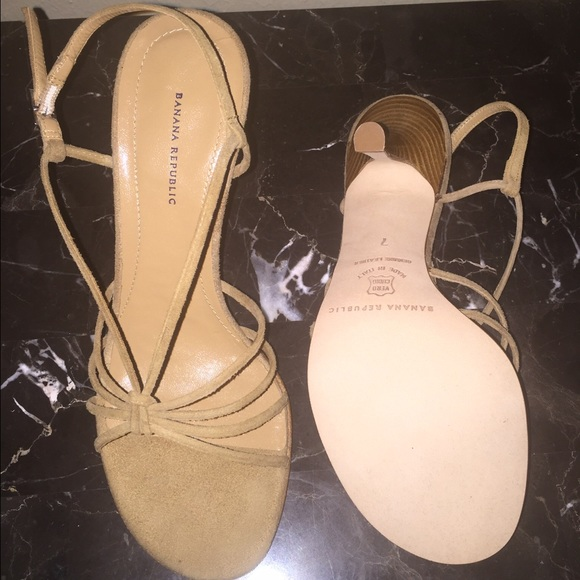 Banana Republic Shoes - Banana Republic Suede Sandals