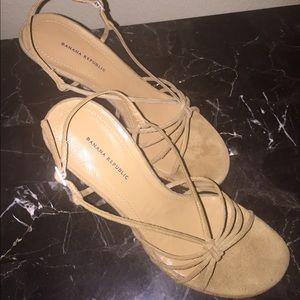 Banana Republic Shoes - Banana Republic Suede Sandals
