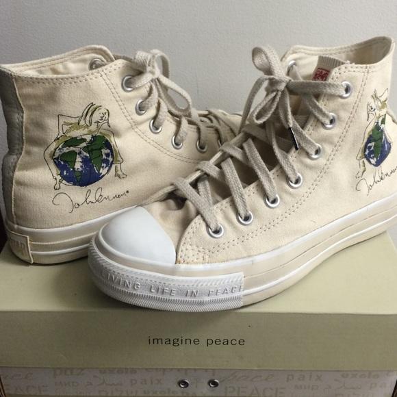 Converse Shoes - Converse 2004 John Lennon Limited Edition sz 7 79cc853ab67c0